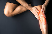 Joint pain, sports injuries, At gym, damaged section, Sportsman, knee bone injury, sports accidents