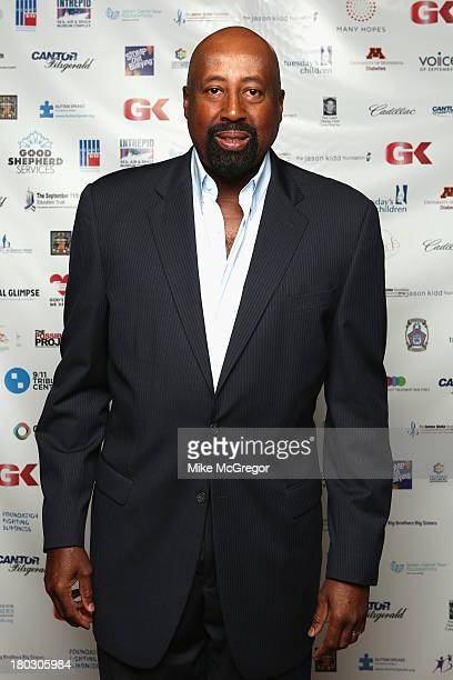 Knicks head coach Mike Woodson attends the Annual Charity Day Hosted By Cantor Fitzgerald And BGC at the Cantor Fitzgerald Office on September 11...