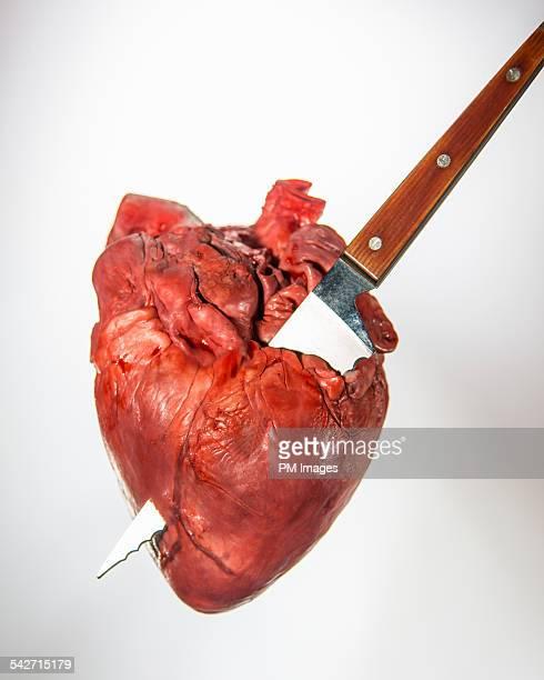 Knife through the heart