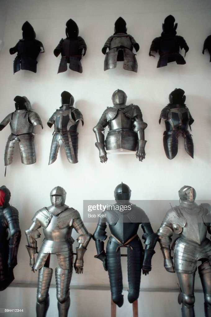 Knight Armor in Old Castle