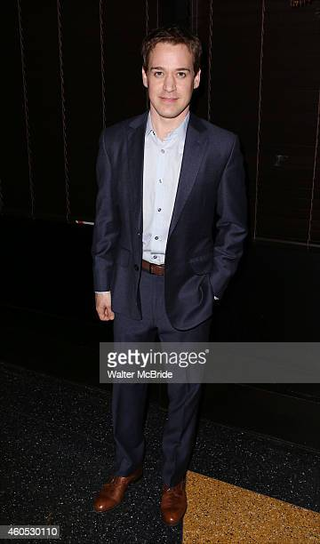 R Knight attends the Opening Night After Party for 'Pocatello' at Heartland Brewery on December 15 2014 in New York City