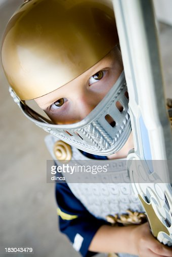 Knight in shining plastic armor