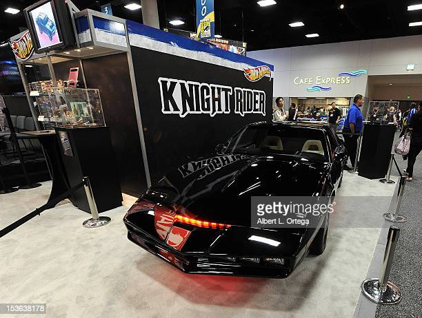 Knight Rider display inside the Mattel booth during day 3 of ComicCon International 2012 held at San Diego Convention Center on July 14 2012 in San...