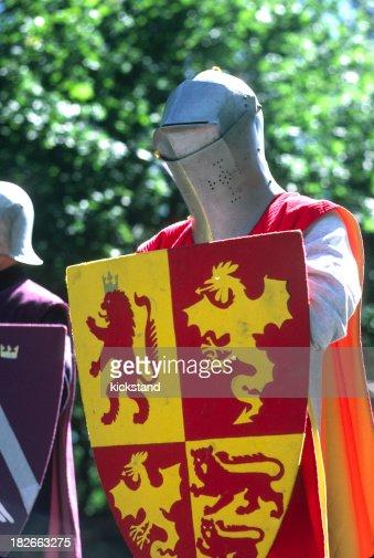 Knightly figure