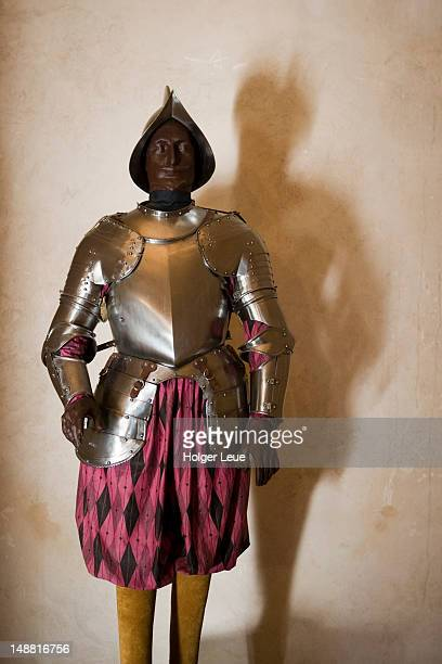 Knight's armor at Royal Palace of Almudaina.