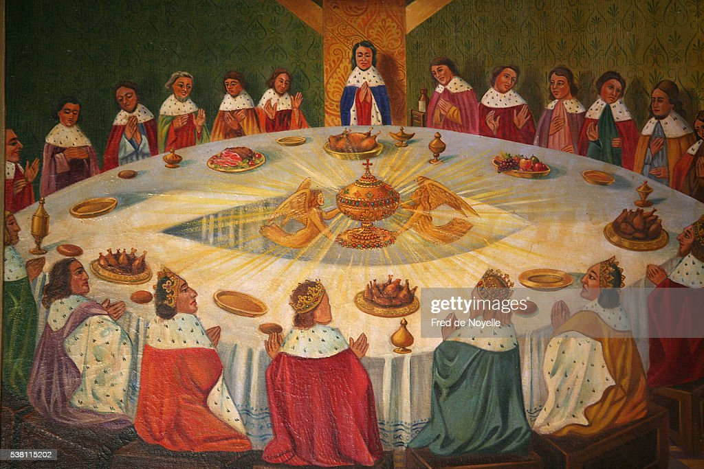 Knights Of The Round Table Painting Stock Photo Getty Images