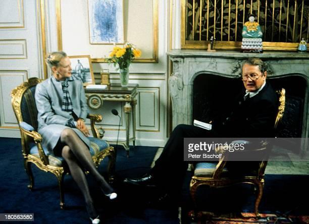 Königin Margrethe II von Dänemark RolfSeelmannEggebert 'Palastgeflüster' KönigshausKopenhagen Dänemark