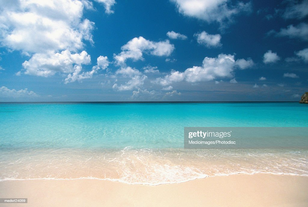 Knip Beach on Curacao, Caribbean : Stock Photo