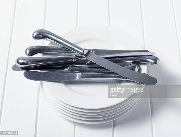 Knives and Plates