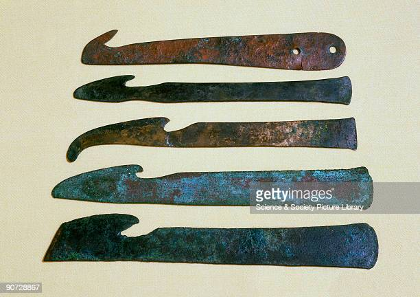 Knives like these may have been used to remove organs during the process of mummification Written records of medical practice in this area show that...
