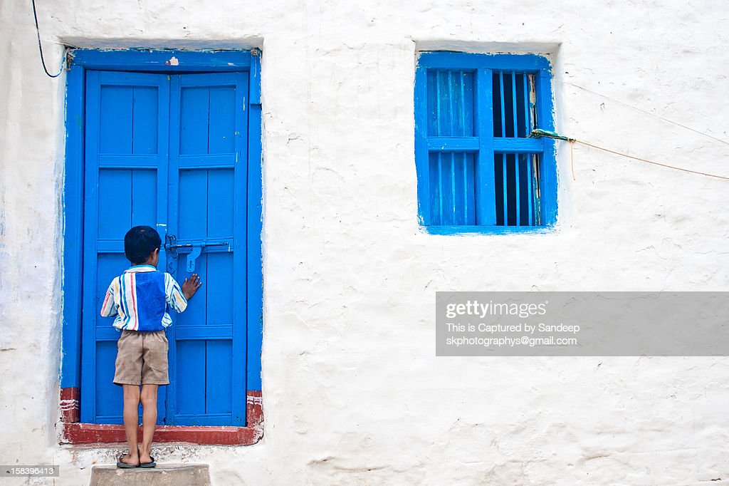 Knock the door