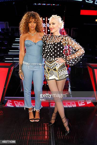 THE VOICE 'Knockout Reality' Pictured Rihanna Gwen Stefani