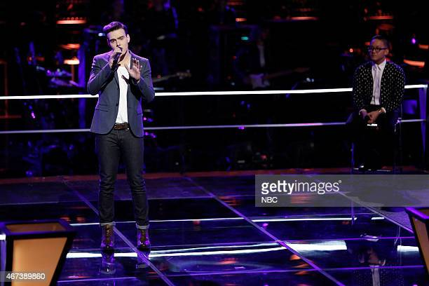 THE VOICE 'Knockout Rounds' Episode 809 Pictured Clinton Washington Nathan Hermida