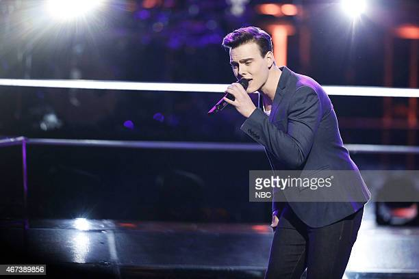 THE VOICE 'Knockout Rounds' Episode 809 Pictured Clinton Washington