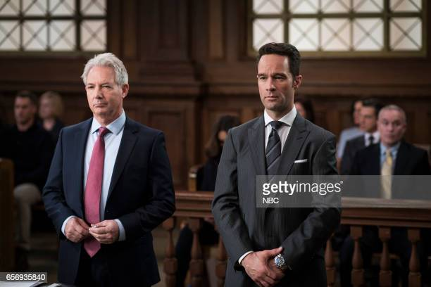 UNIT 'Know It All' Episode 1814 Pictured Tim Ewing as Lawyer TK Chris Diamantopoulos as Steven Willard