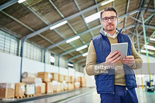 Ich weiß, dass das warehouse wie meine tablet