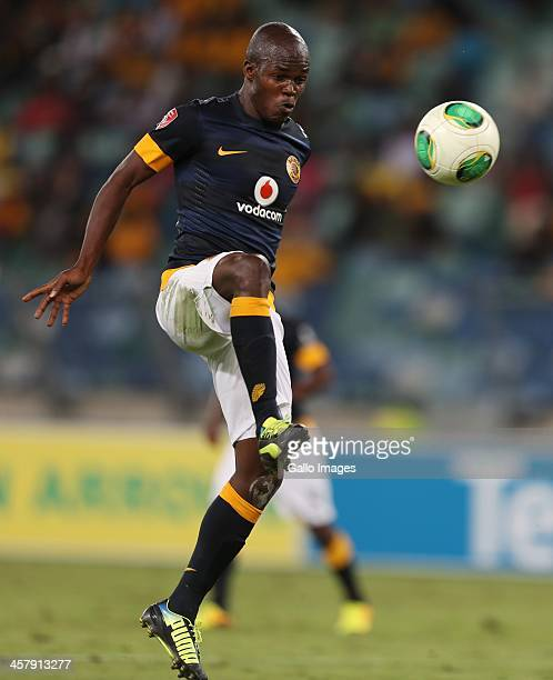 Knowledge Musona of Kaizer Chiefs during the Absa Premiership match between Golden Arrows and Kaizer Chiefs at Moses Mabhida Stadium on December 19...