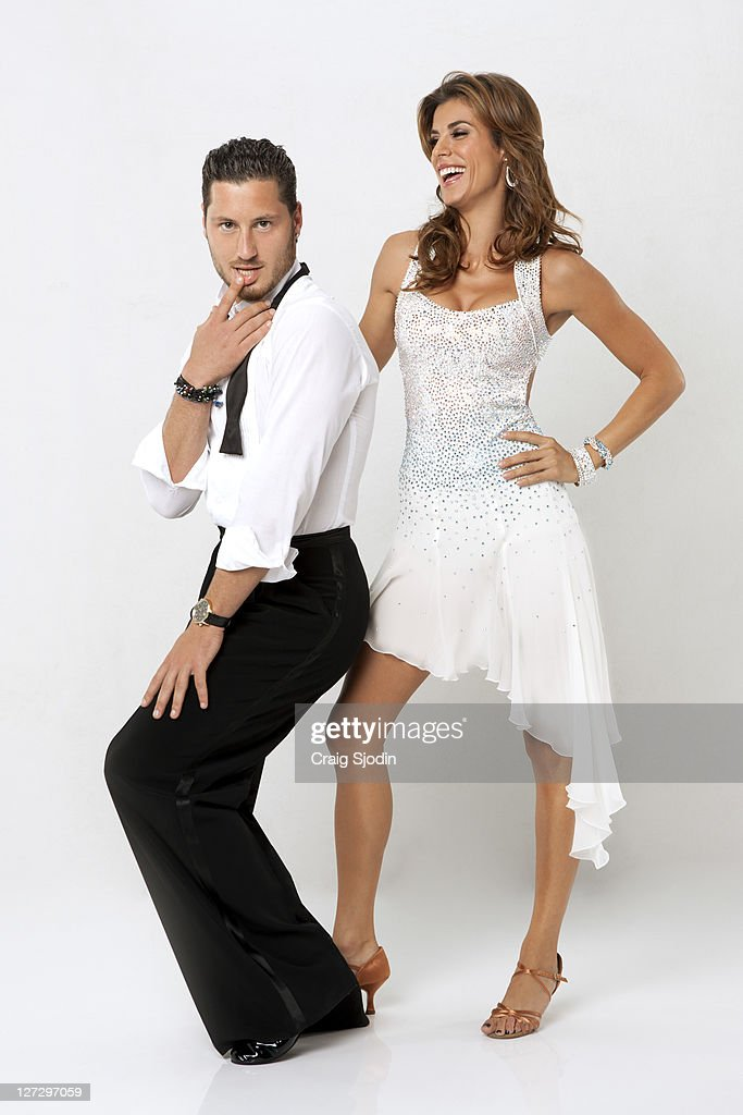 STARS - (EXCLUSIVE TO GETTY IMAGES UNTIL ) ELISABETTA CANALIS & VAL CHMERKOVSKIY - Known for her gorgeous figure and striking expressions, Elisabetta Canalis became an instantly recognizable figure in the world of high fashion and advertising. She partners with VAL CHMERKOVSKIY, who makes his 'Dancing with the Stars' debut as a professional partner this season. A dynamic lineup of stars will take the stage performing either the Cha Cha Cha or The Viennese Waltz for the two-hour season premiere of 'Dancing with the Stars,' MONDAY, SEPTEMBER 19 (8:00-10:01 p.m., ET) on the ABC Television Network.