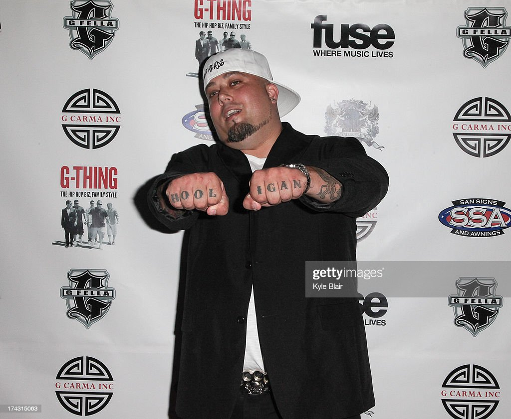 Knuckes attends the 'G-Thing' Series Premiere Party at The Griffin on July 23, 2013 in New York City.
