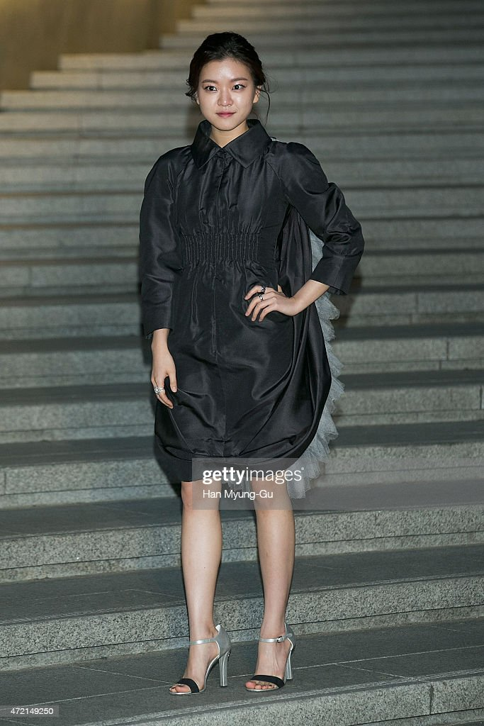 Ko Ah-Sung aka Ko A-Sung attends the Chanel 2015/16 Cruise Collection show on May 4, 2015 in Seoul, South Korea.