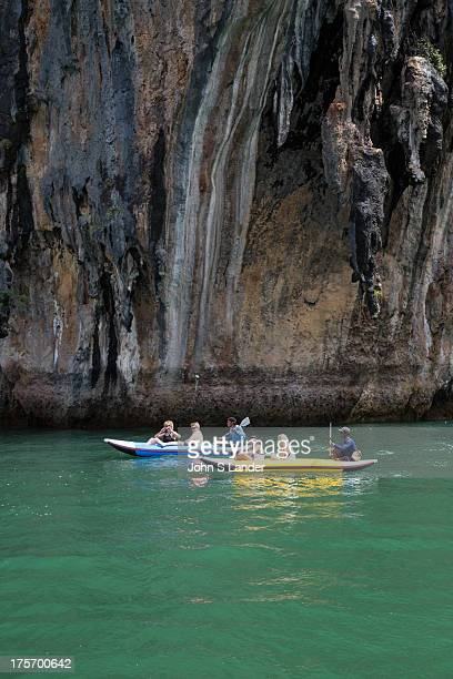 Ko Phanak and Ko Hong are stunning hongs collapsed cave systems full of stalactites that are popular for sea kayaing and canoe trips Locals cultivate...
