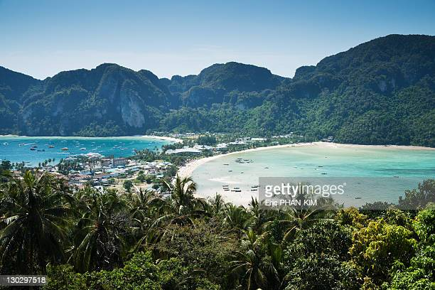 Ko Phi Phi view from top, Thailand