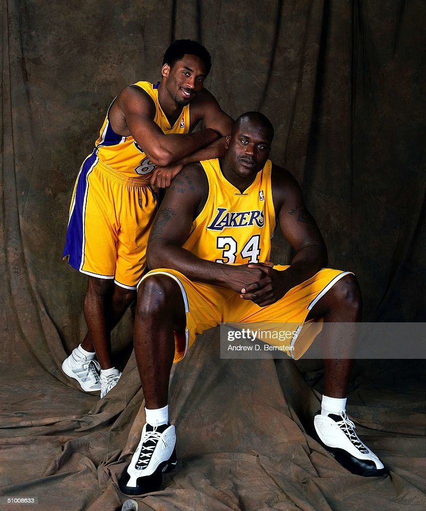 Kobe Bryant and Shaquille O Neal Portrait