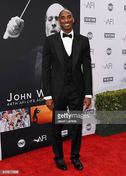 Kobe Bryant attends the 44th AFI Life Achievement Awards gala tribute at Dolby Theatre on June 9 2016 in Hollywood California