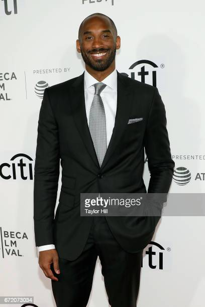 Kobe Bryant attends Tribeca Talks during the 2017 Tribeca Film Festival at Borough of Manhattan Community College on April 23 2017 in New York City