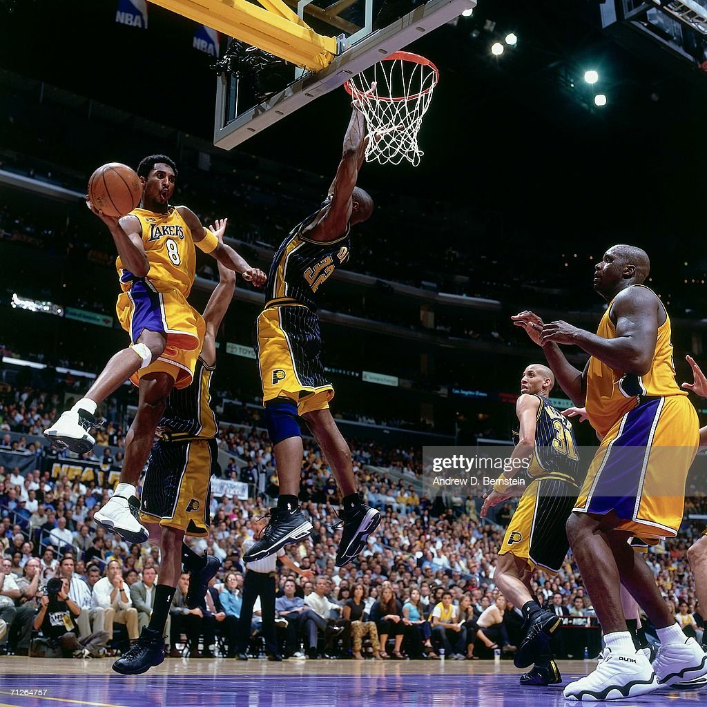 2000 NBA Finals Game 1 Indiana Pacers vs Los Angeles Lakers