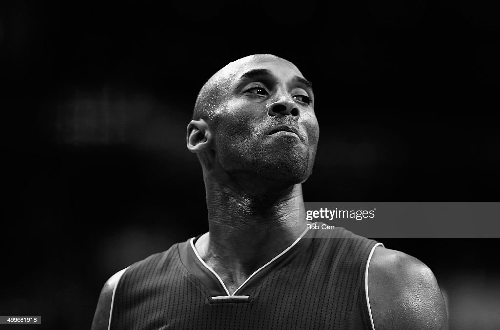 <a gi-track='captionPersonalityLinkClicked' href=/galleries/search?phrase=Kobe+Bryant&family=editorial&specificpeople=201466 ng-click='$event.stopPropagation()'>Kobe Bryant</a> #24 of the Los Angeles Lakers looks on against the Washington Wizards in the first half at Verizon Center on December 2, 2015 in Washington, DC.