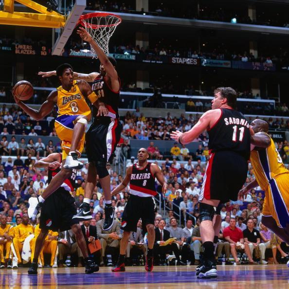 Blazers Vs Lakers: Arvydas Sabonis Stock Photos And Pictures