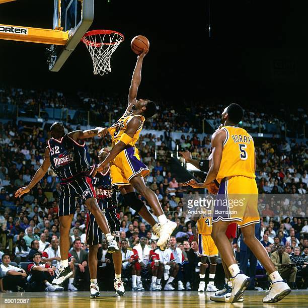 Houston Rockets X Lakers: Kobe Bryant 1999 Stock Photos And Pictures