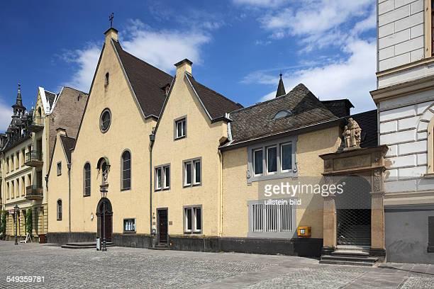 Koblenz Ehrenbreitstein Kapuzinerplatz Capuchin Square Capuchin monastery Capuchin church monastery church