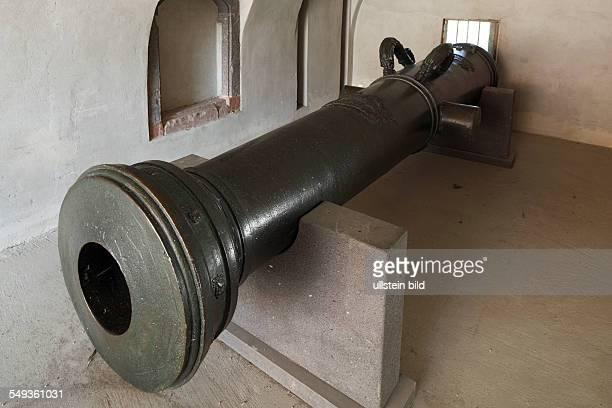 KoblenzEhrenbreitstein Ehrenbreitstein Fortress State Museum RhinelandPalatinate archaeological museum cannon 'Vogel Greif'