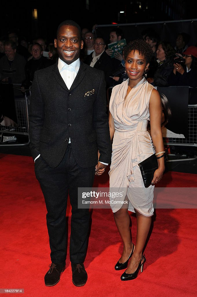 Kobna Holdbrook-Smith attends a screening of 'The Double' during the 57th BFI London Film Festival at Odeon West End on October 12, 2013 in London, England.>>