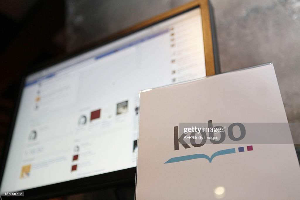 Kobo's new application for Facebook's Timeline is seen at Facebook's special invitation only event at Twenty Five Lusk restaurant and lounge in San Francisco on January 18, 2012 in California. AFP Photo / Kimihiro Hoshino