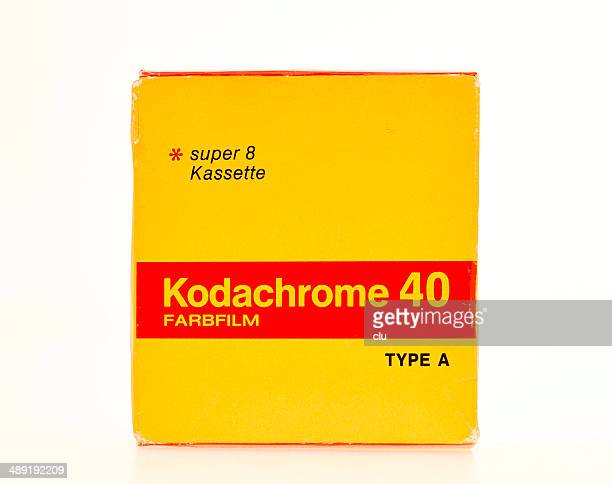 Kodachrome Film pack from 1975