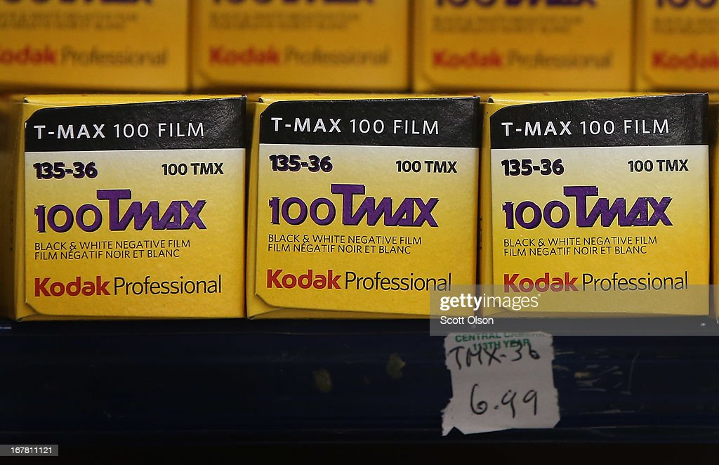 Kodak black and white film is offered for sale at Central Camera on April 30, 2013 in Chicago, Illinois. Bankrupt Eastman Kodak has reached a deal to turn over the company's film business to U.K. Kodak Pension Plan which will eliminate a $2.8 billion pension obligation. Kodak, which once had a 90 percent market share of U.S. film sales filed for bankruptcy last year.
