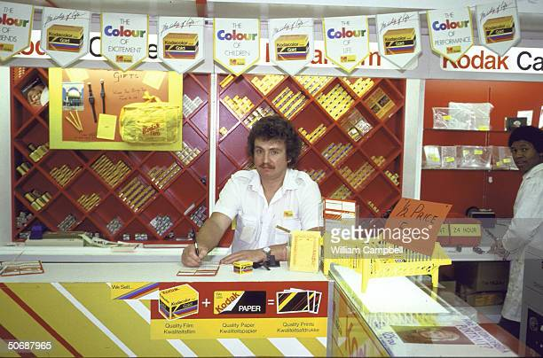 A Kodak dealer in a shopping center
