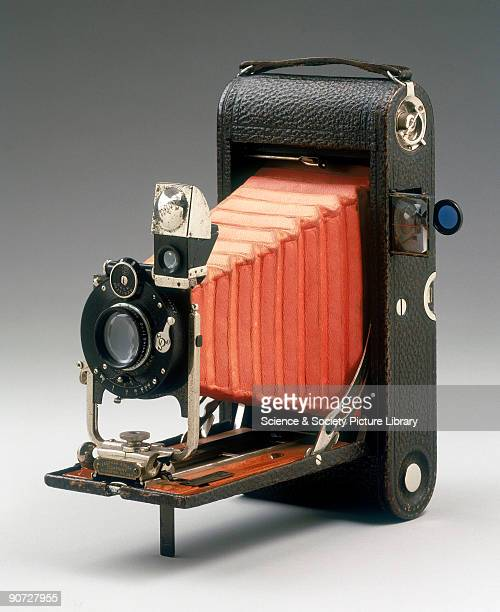 Kodak introduced their first folding pocket camera in 1897 This was the first of what was to become a very popular range of folding roll film cameras...