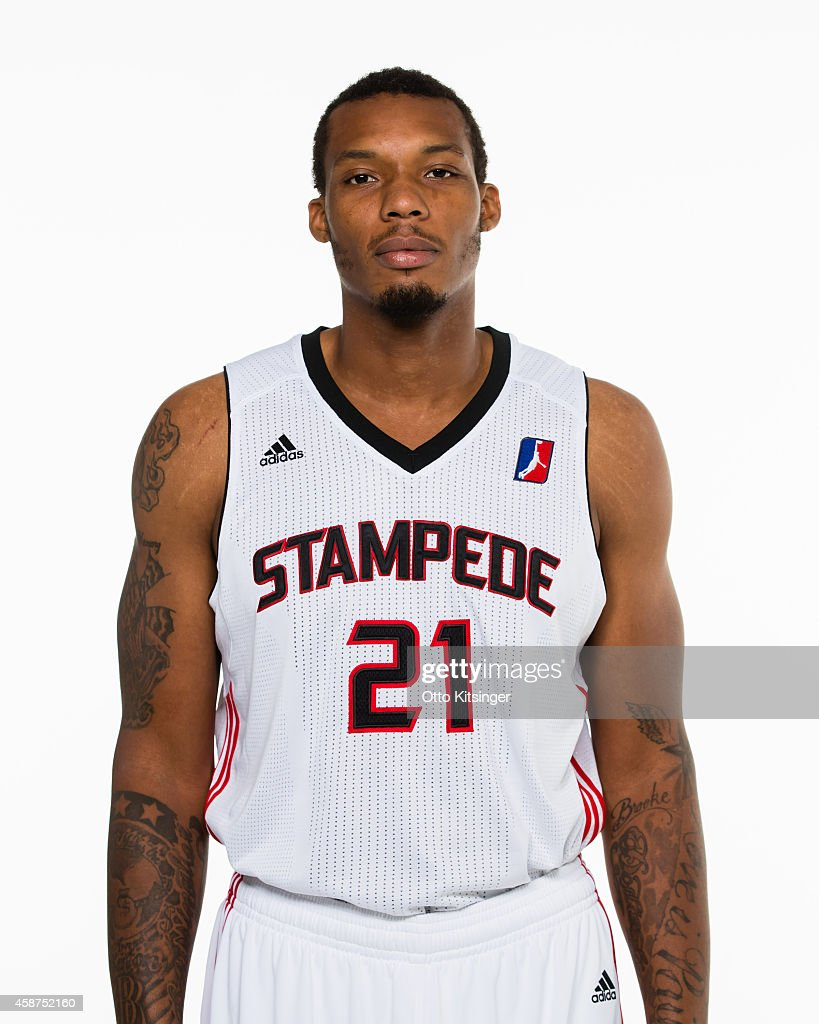 Kodi Augustus of the Idaho Stampede poses for a portrait during Media Day on November 9 2014 at CenturyLink Arena in Boise Idaho NOTE TO USER User...