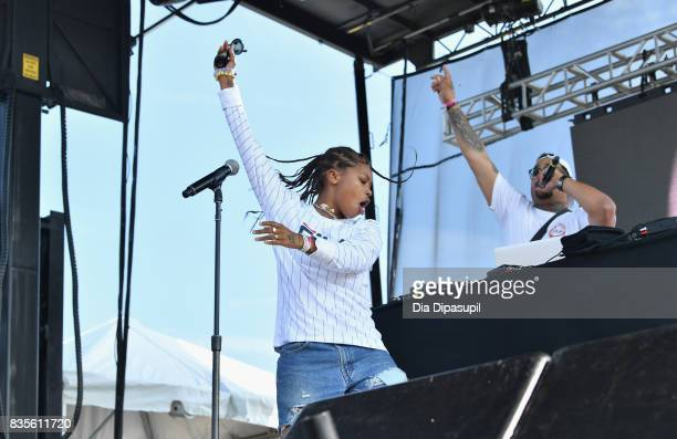 Kodie Shane performs during Day One of 2017 Billboard Hot 100 Festival at Northwell Health at Jones Beach Theater on August 19 2017 in Wantagh City