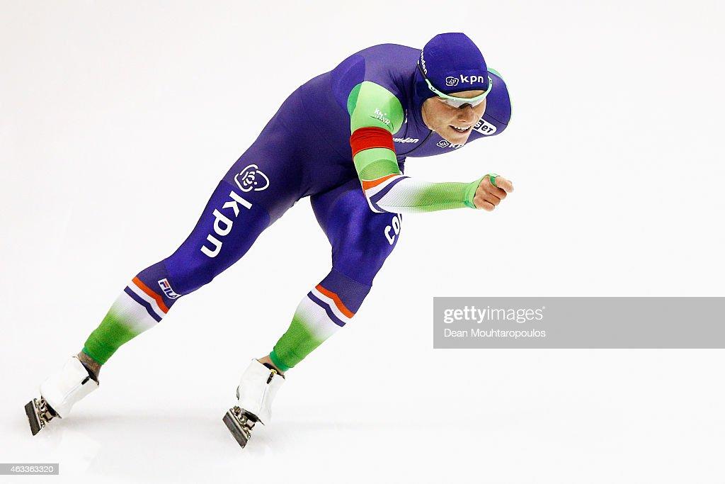 ISU World Single Distances Speed Skating Championships - Day Two