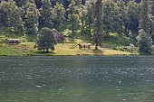 koenigsee, a lake in the bavarian aples, germany