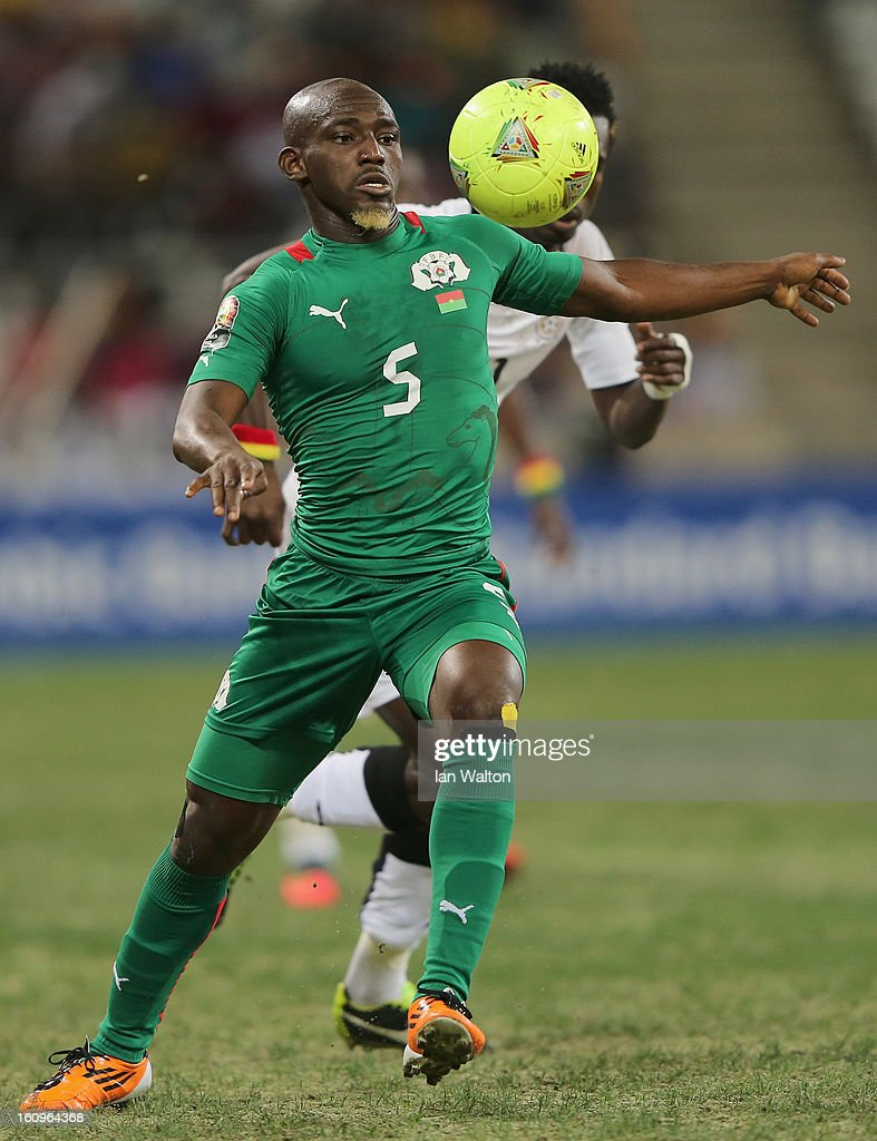 Koffi Mohamed of Burkina Faso during the 2013 Africa Cup of Nations Semi-Final match between Burkina Faso and Ghana at the Mbombela Stadium on February 6, 2013 in Nelspruit, South Africa.