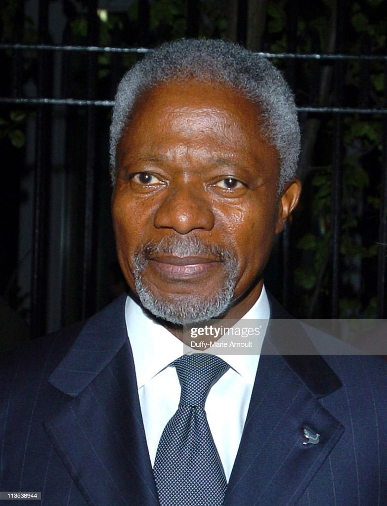 Kofi Annan, Secretary General of the United Nations