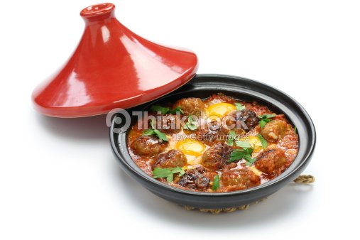 El kofta picante tajine kefta taj n cocina de estilo - Cordero estilo marroqui ...