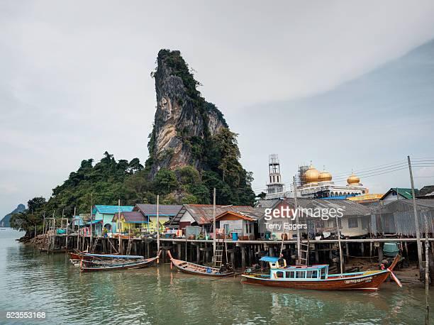 Koh Pan Yi (Floating Muslim Village) Phang Nga Bay