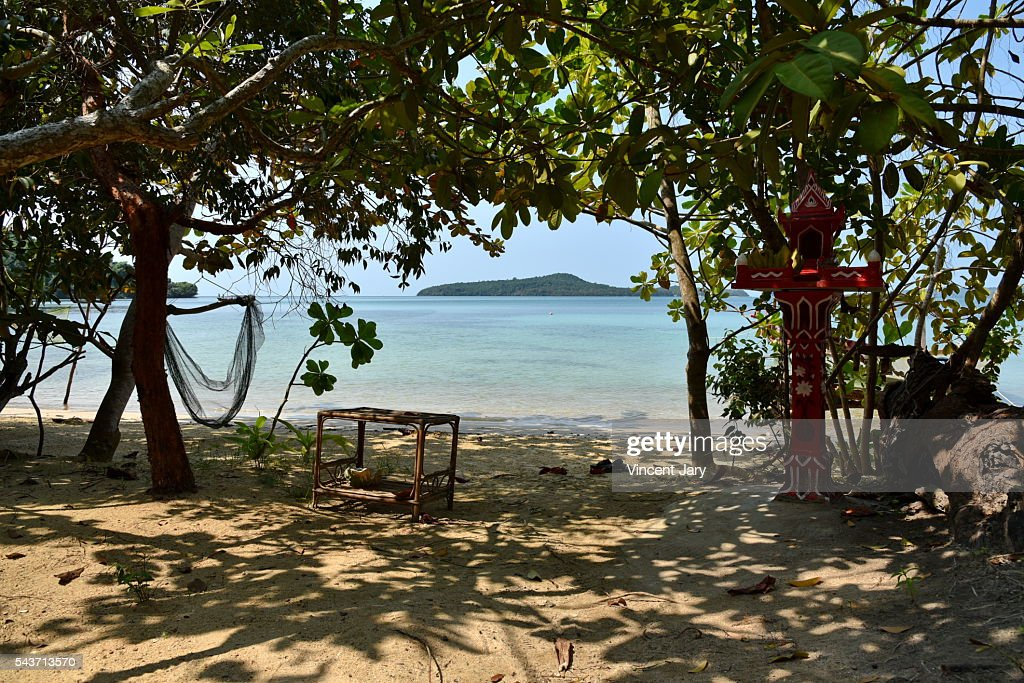 Koh Ta Kiev island Cambodia : Stock Photo